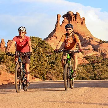 Canyonlands Sunrise Bike Ride
