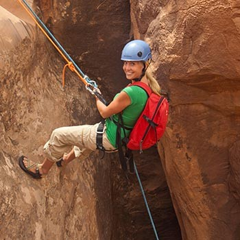 Ephedra's Grotto Canyoneering Adventure