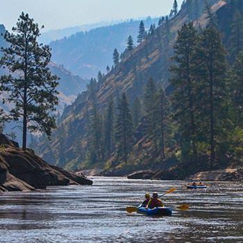 Rafting the Main Salmon River in Idaho