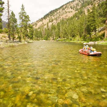 Middle Fork Salmon Fly Fishing