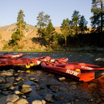Salmon River near Riggins - Rafting Trip