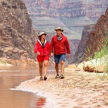 Grand Canyon beach stroll