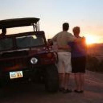 Sunset Hummer Safari